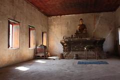 Derelict Temple (segashi) Tags: orange thailand temple asia cambodia southeastasia thought alone buddha religion monk buddhism thoughts harmony laos luangprobang