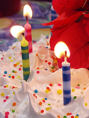 Birthday cake (Photo by Ariel da Silva Parreira, Stock.Xchng Photos)