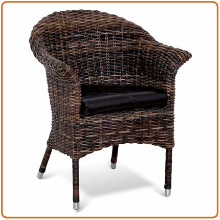 Natural Rattan Chair, Antique Chair