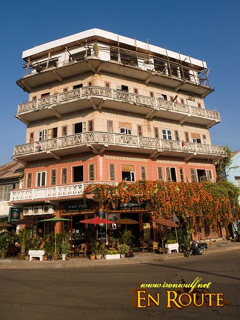Laos Pakse Buildings