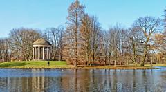 springtime (dana jnichen) Tags: park lumix pond hannover panasonic crop pavilion teich pavillon lucisart niedersachsen lowersaxony georgengarten fz28