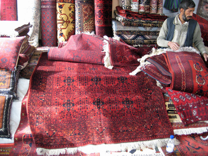Carpet Merchant in Kabul