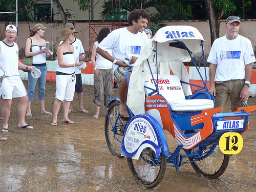 Saigon Cyclo Challenge, Stealth Samba Band with Atlas Cyclo Team