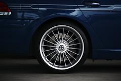 Alpina B7 (j.hietter) Tags: blue detail car wheel sedan alpina spokes 7 part bmw series tuner saloon 19 b7 partial 745li radial 745i 750i 750li 2120