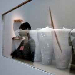 au Muse national d'art moderne : nostalgie des savanes (VolDeNuit ... (hibernates for a while)) Tags: glass poetry reflet reflexion vitre posie petiteshistoiressansparoles carrfranais