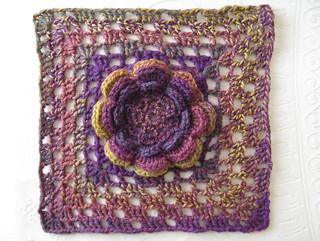 Ravelry: Irish Rose Afghan Square pattern by Ferosa Harold
