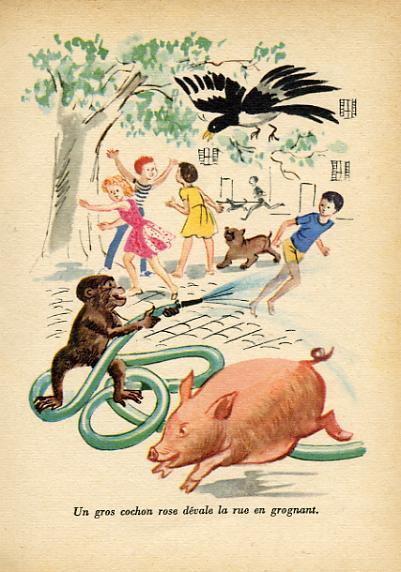 Jeanpi et le wagon rose by, Claude MOIRAN -image