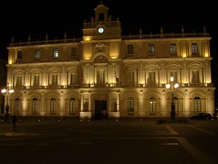 University at Night (niphredil76) Tags: italy square italia sicily nightview piazza catania sicilia notturno
