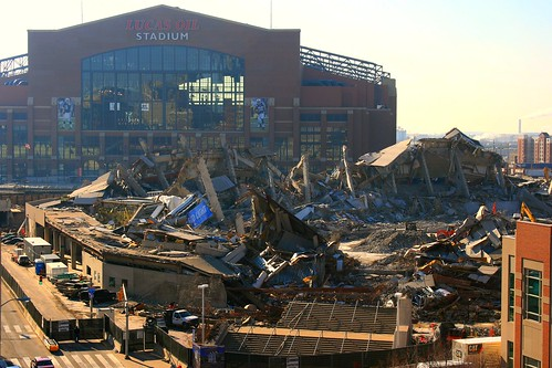 RCA Dome Demolished - by JFeister