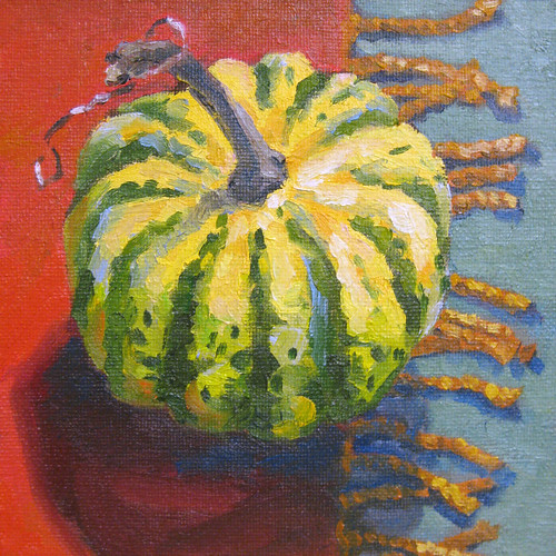11 2008 gourd - daily painting