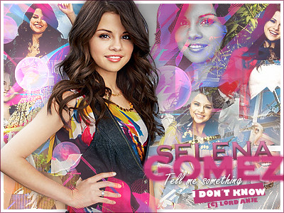 blends de selena gomez. Selena Gomez - Tell me