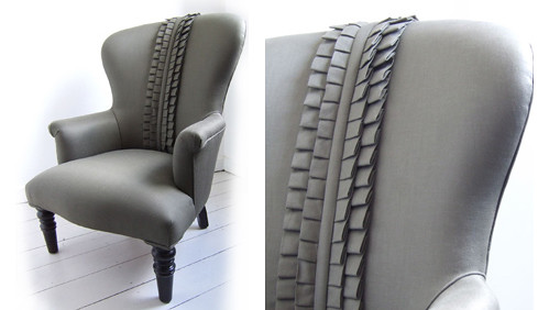 aiveen daly: ruffle side chair