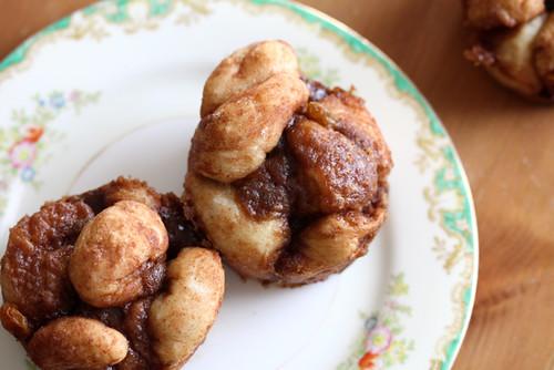 Cinnamon Raisin Pull Apart Muffins