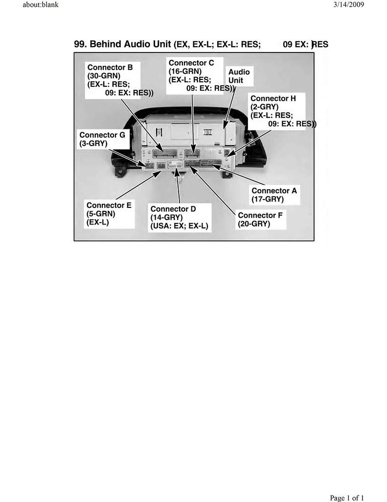 Wiring Diagram for '05 EXL RES Screen?   Honda Odyssey Forum   2005 Honda Odyssey Wiring Diagram      Honda Odyssey Forum