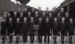 Patrician Brothers Waterloo. Australia  1961 (rangertocpt) Tags: old school church st lady sisters catholic mt brothers father sydney nuns miller waterloo nsw carmel newsouthwales gilroy schools yesterday 20thcentury alumni pupil mercy redfern vincents 1960 malone patrician obyrne patricianbrothers lenmiller