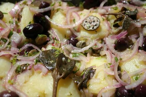 Griechisher Kartoffelsalat
