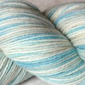 *Vintage Blue* 3.5 oz Merino sock yarn