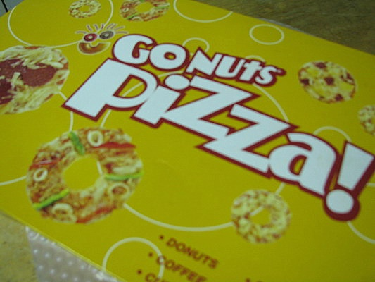 GoNuts Pizza:  blogged