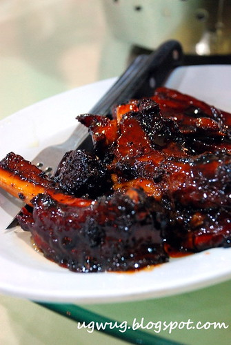 Baked Spare Ribs in Honey Sauce