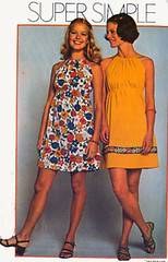 S9885 Gallery (sandritocat) Tags: vintage mod pattern sewing commercial empire supplies minidress vintage70s supersimple sizemedium size12to14 bust34to36 simplicity9885