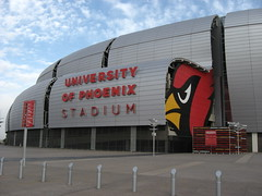University of Phoenix Stadium, Home of the Ari...