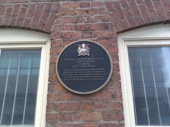 Photo of Black plaque number 717