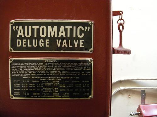 Automatic Deluge Valve