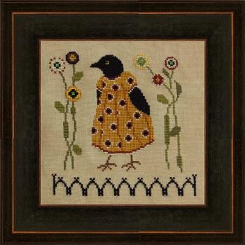 Ida Mae Black Brown Frame