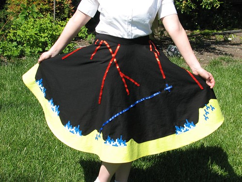 Missile Command Skirt 22