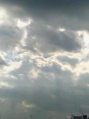 【写真】天使の梯子