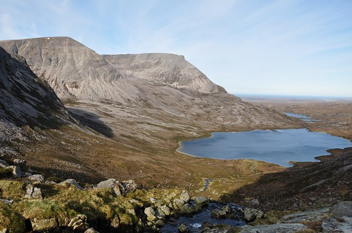 Arkle and Loch an Easian Uaine