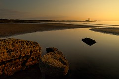 Seton Sands at Sundown (jamalrob) Tags: sunset beach olympus sands zuiko seton firthofforth eastlothian e510 1260