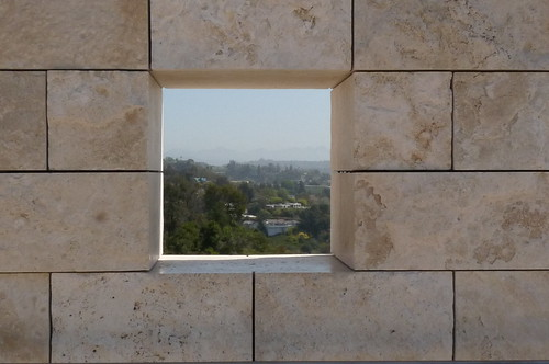 view through the getty