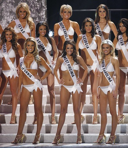 Miss USA 2009 contestants photo