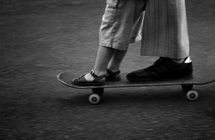 skating feet