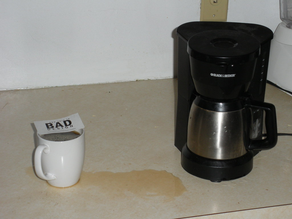 5-Cup Stainless Steel Carafe Coffee Maker