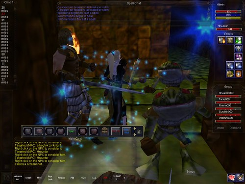 Classic Spell Effects Do Not Come Out of Hands [Archive