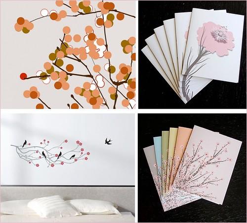 cherry blossom items