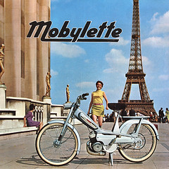 Motobcane Mobylette - 1965 (BigBlockAgency) Tags: paris france pub ad advert brochure trocadero mopped motobecane mobylette