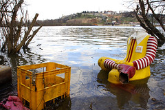 (Mark Yuill) Tags: headless river junk serbia mcdonalds pollution ronaldmcdonald beograd sava debri