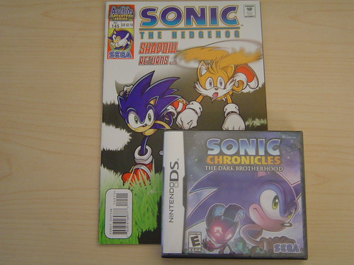 Sonic Comic & Sonic Chronicles for DS