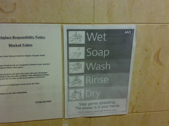 Wet Soap Wash Rinse Dry
