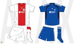 Ajax kit 2008/2009 (7football) Tags: shirt illustration football illustrator vector calcio maglia adobeillustrator illustrazione vettoriale 20082009