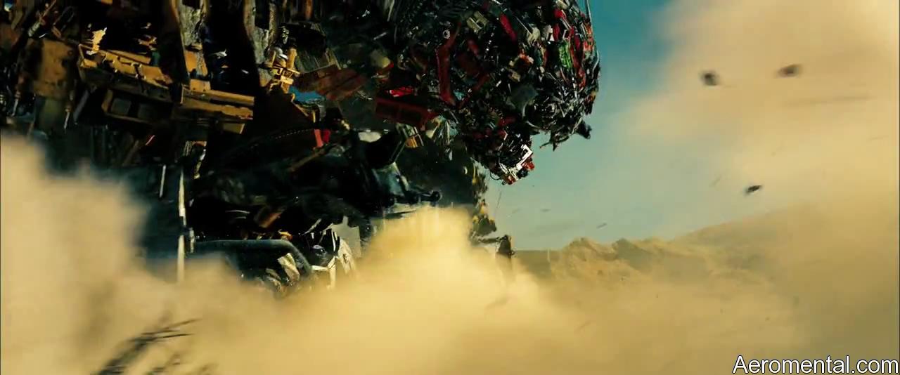 Transformers 2 Devastator ruge