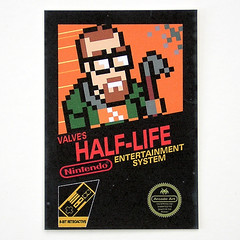 Collectable Card - Half-Life 8-bit Retroactive (Arcade Art) Tags: life game nerd video geek nintendo arcade retro gaming gamer half videogame nes custom nerdy