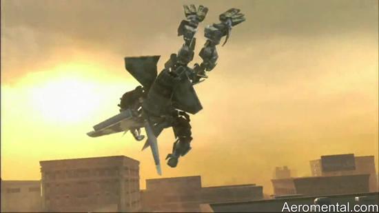 Aerialbot robot juego Transformers 2