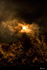 Bonfire 2 (StarlightHope) Tags: sunset holiday fire sundown smoke flames dramatic celebration bonfire tradition valborg allys solnedgång eld bål walpurgisnight sistaapril valborgsmässoafton dramatisk valborgsmässofirande valborgsmässobål