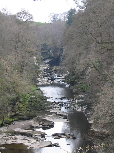The Clyde at New Lanark