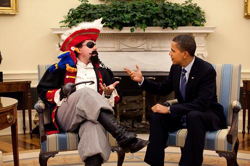Barak Obama being funny