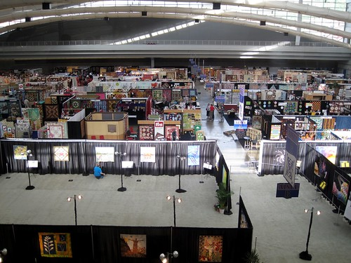 market exhibits setup